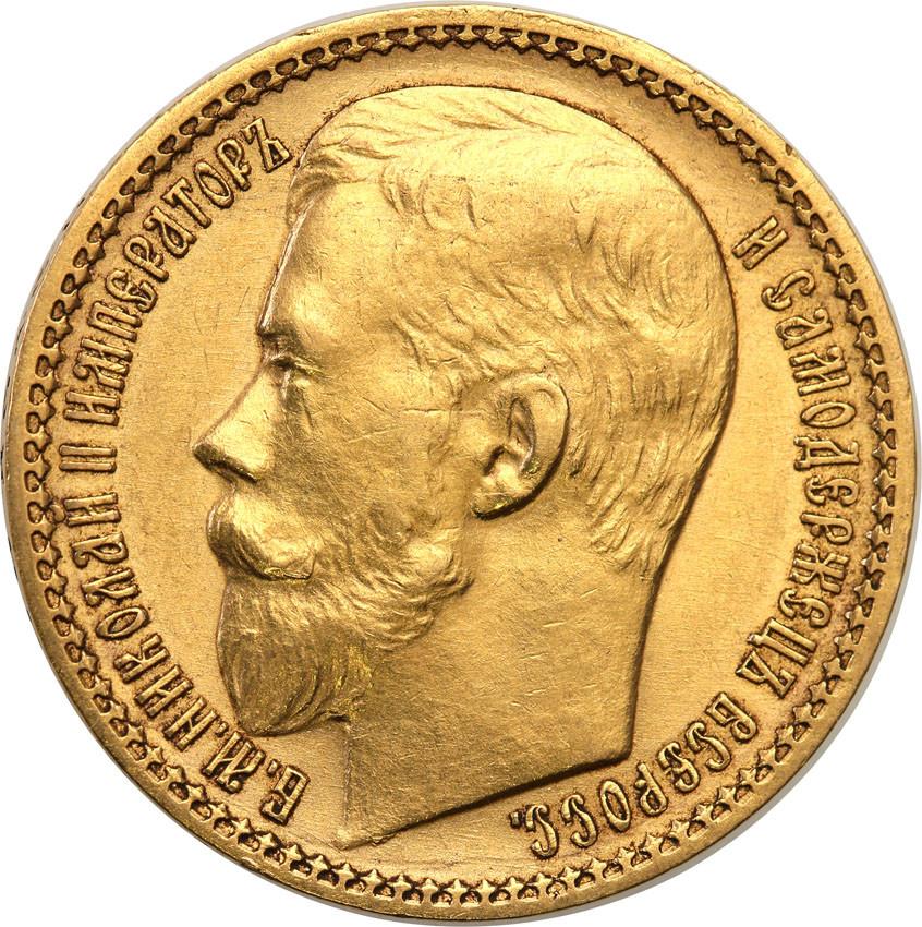 Rosja Mikołaj II 15 Rubli 1897 st.1-/2+