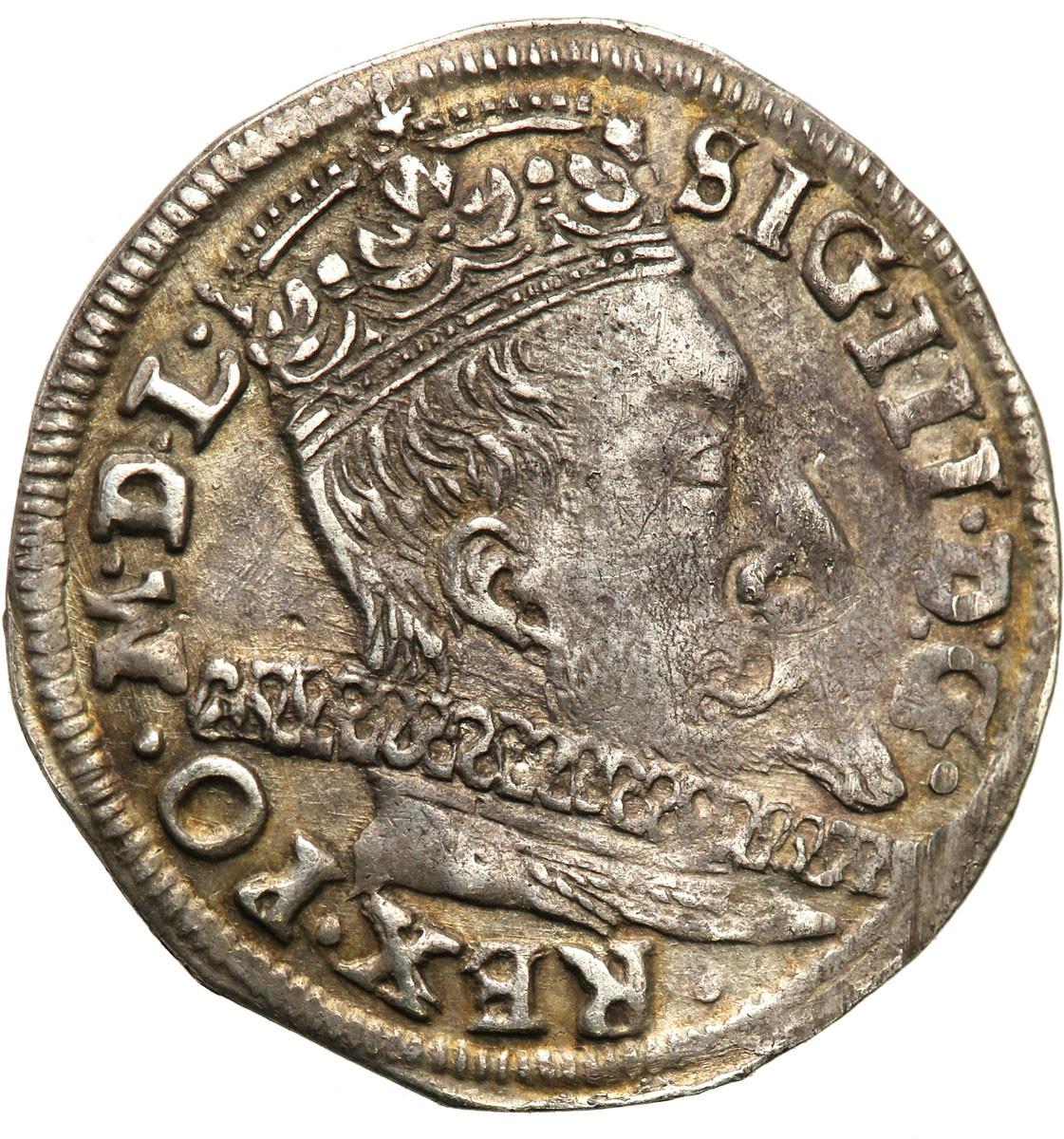 Polska Zygmunt III Waza Trojak Wilno 1597 st.2-