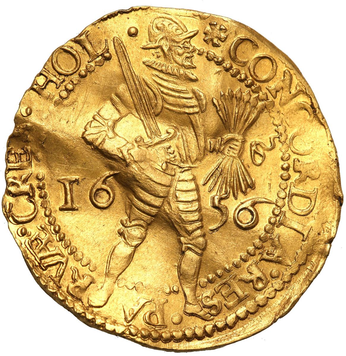 Niderlandy 2 dukaty 1656 st. 3+