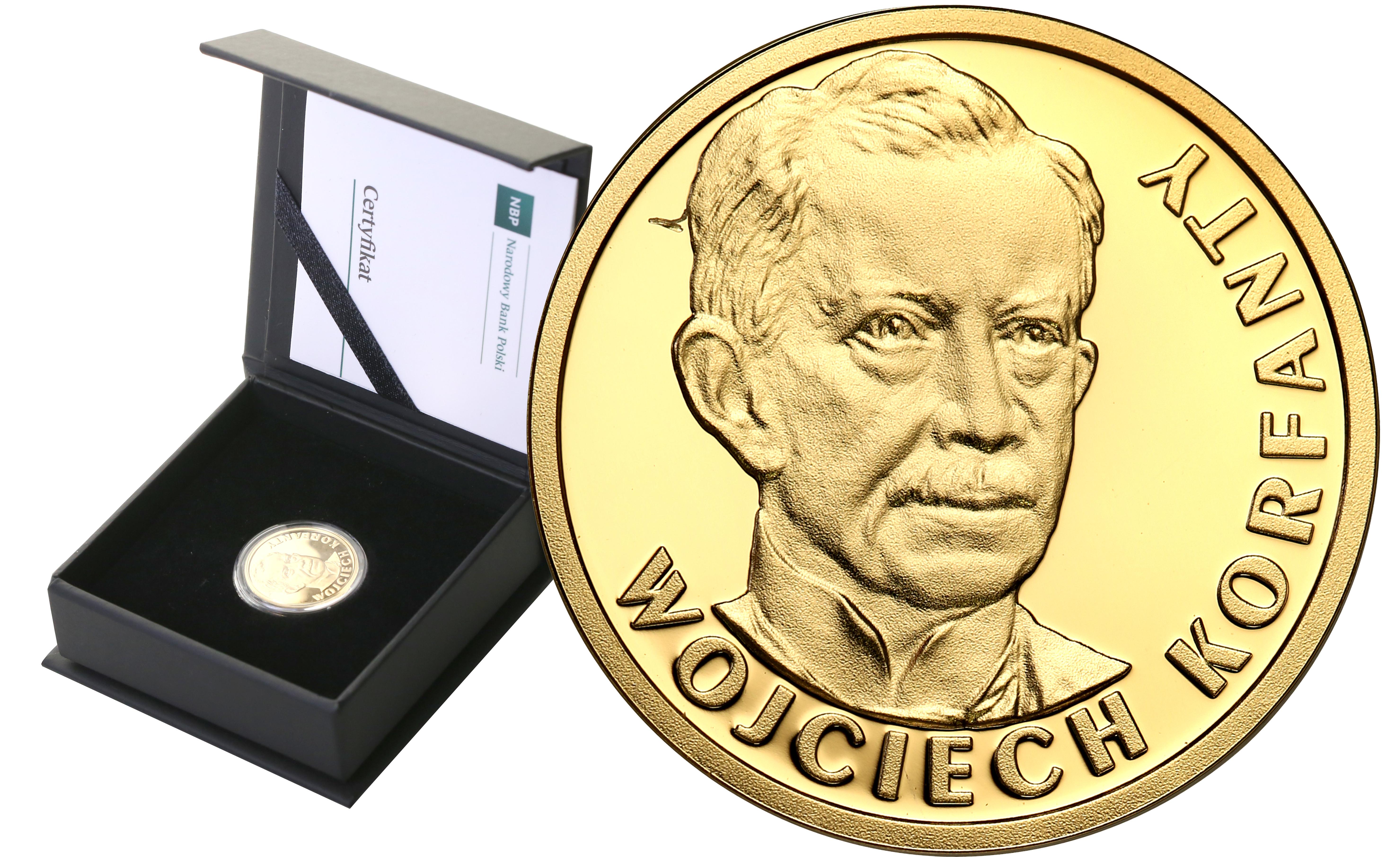 Polska. 100 złotych 2019 Wojciech Korfanty st.L