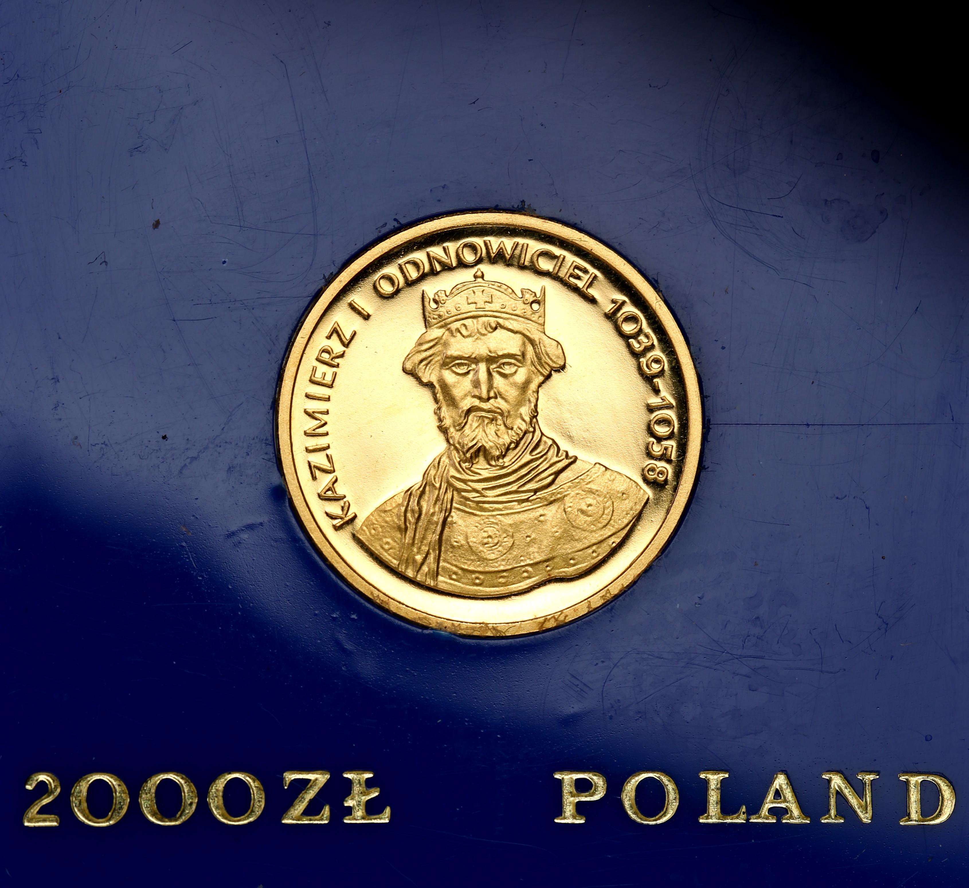 PRL 2000 złotych 1980 Kazimierz I Odnowiciel st.L/L-