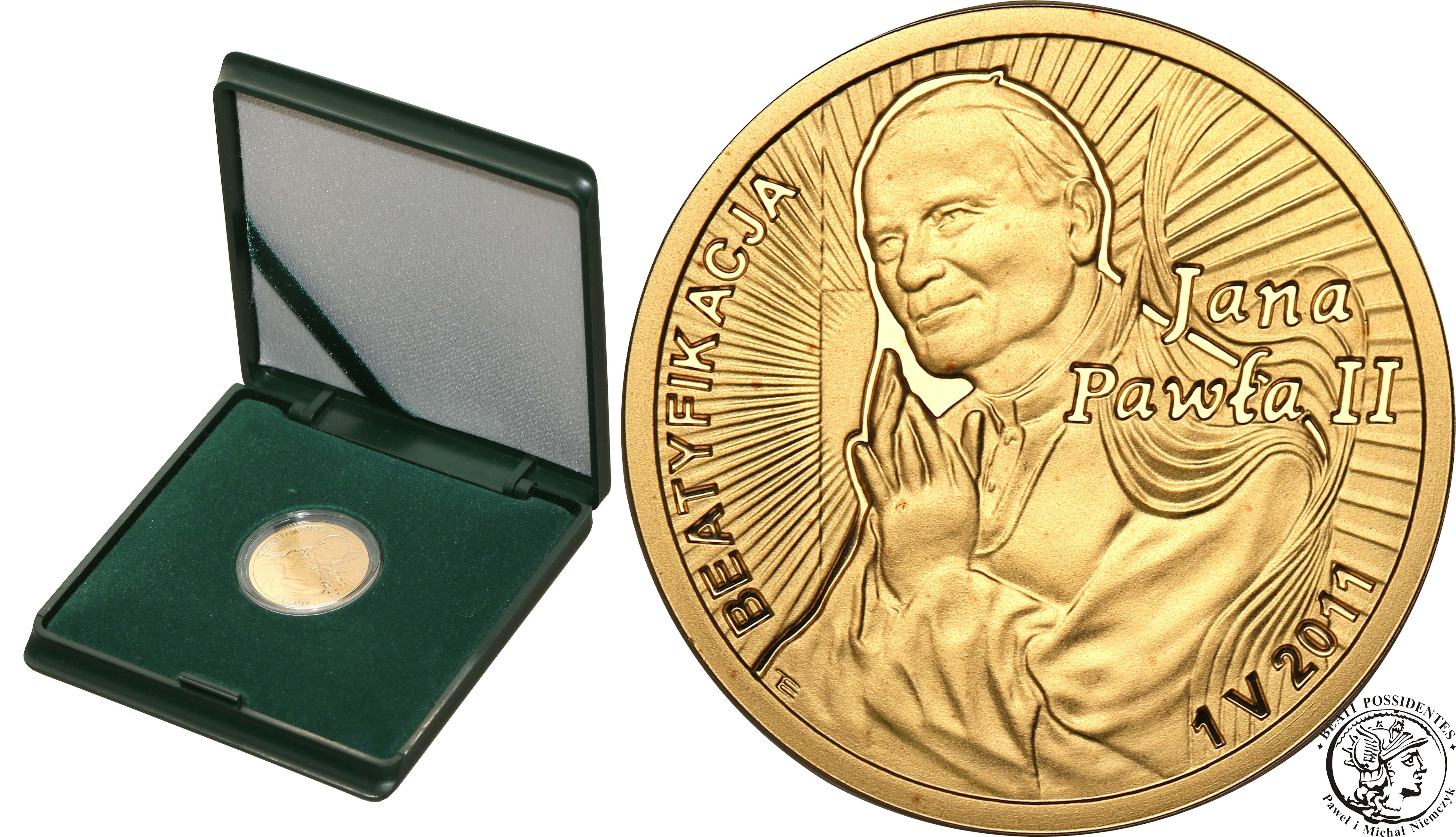 100 złotych 2011 Beatyfikacja Jana Pawła II st.L