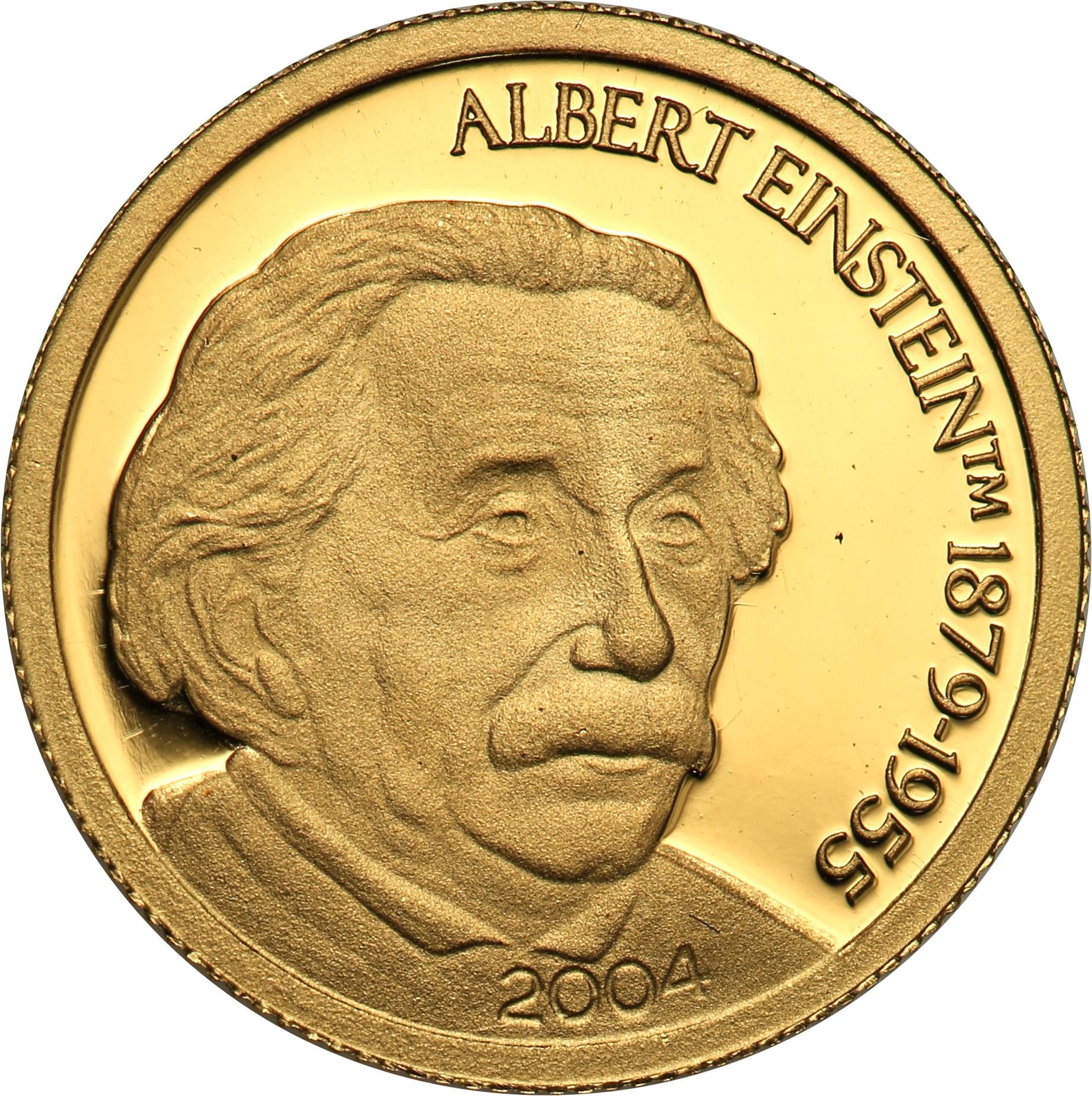 Mariany Północne. 5 dolarów 2004 Albert Einstein st.L