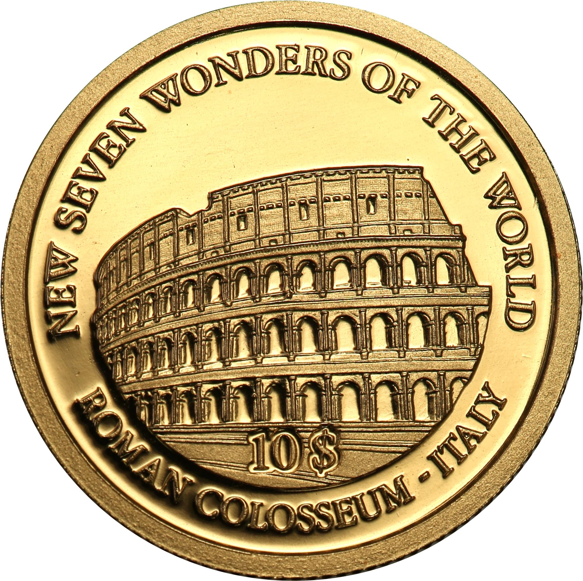 Wyspy Salomona. 10 dolarów Wysp Salomona 2007 Koloseum st.L