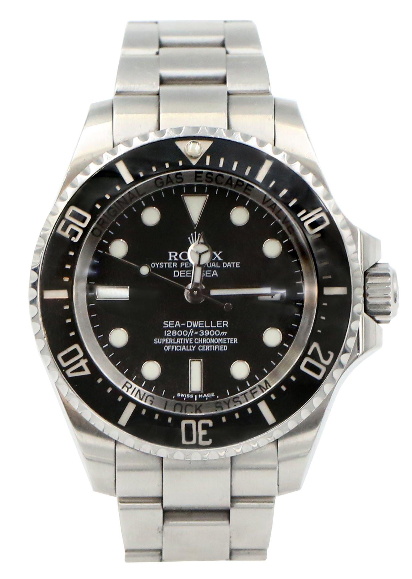 Zegarek Rolex Oyster Sea-dweller Deepsea Cosc 116660 - 44mm - czarny