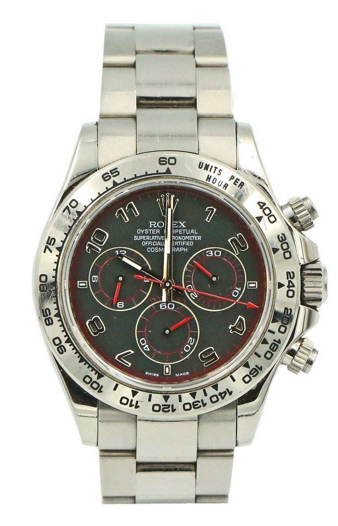 Zegarek Rolex Cosmograph Daytona 116509 Czarny – białe złoto