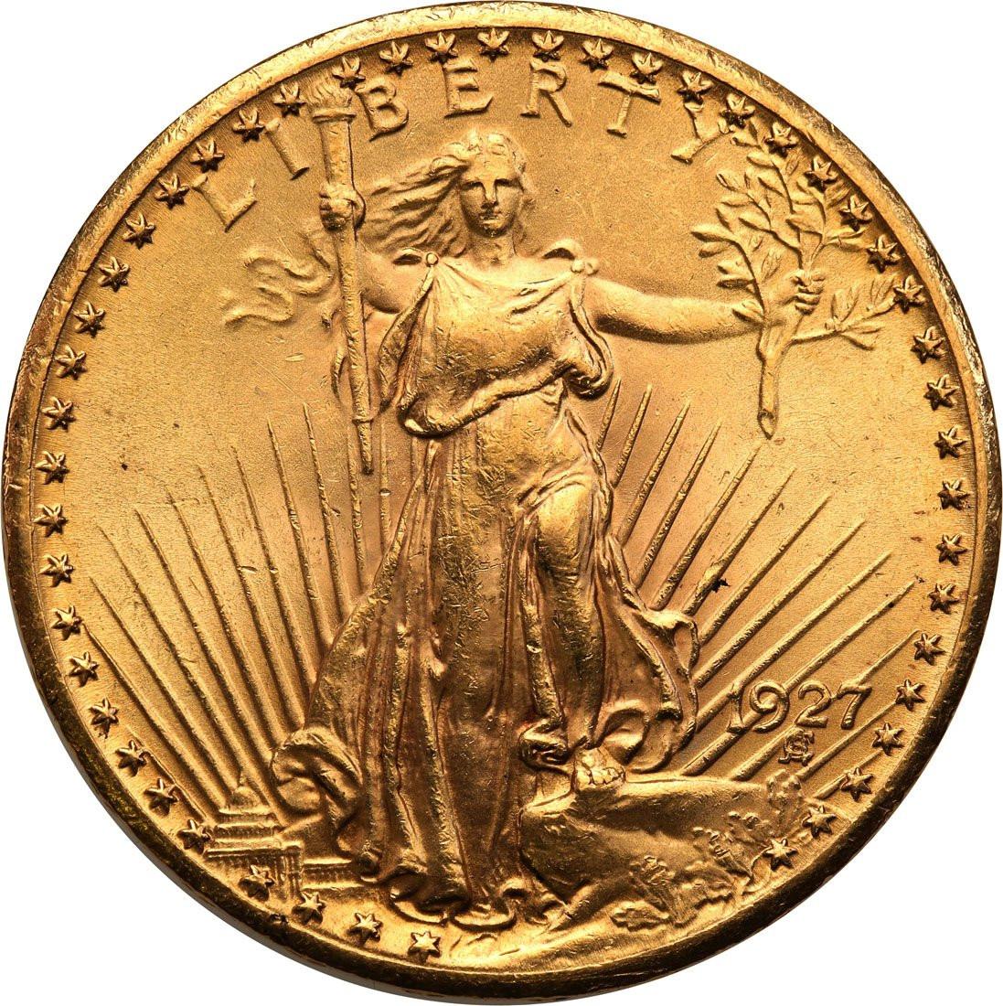 USA. 20 dolarów Saint Gaudens 1927