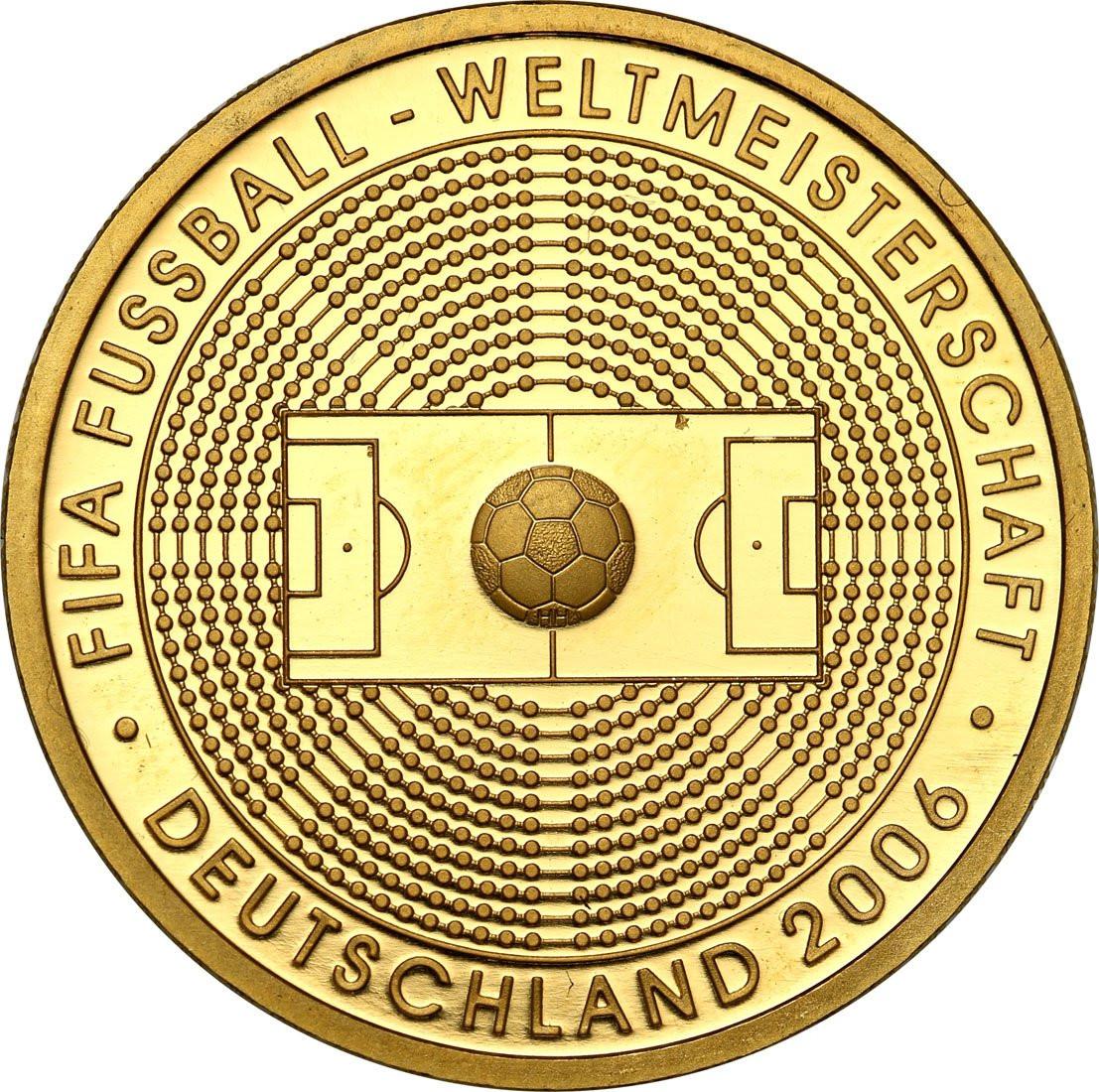 Niemcy 100 euro 2013 FIFA Ogród - 1/2 uncji złota