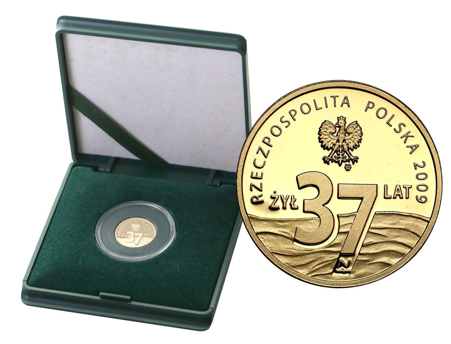 III RP 37 złotych 2009 Popiełuszko