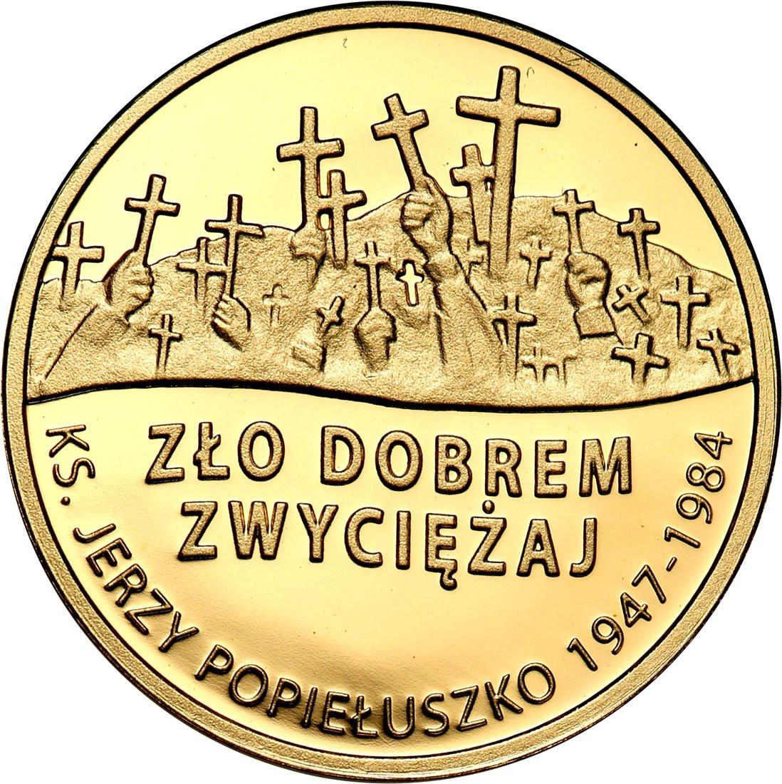 Polska III RP 37 złotych 2009 Popiełuszko