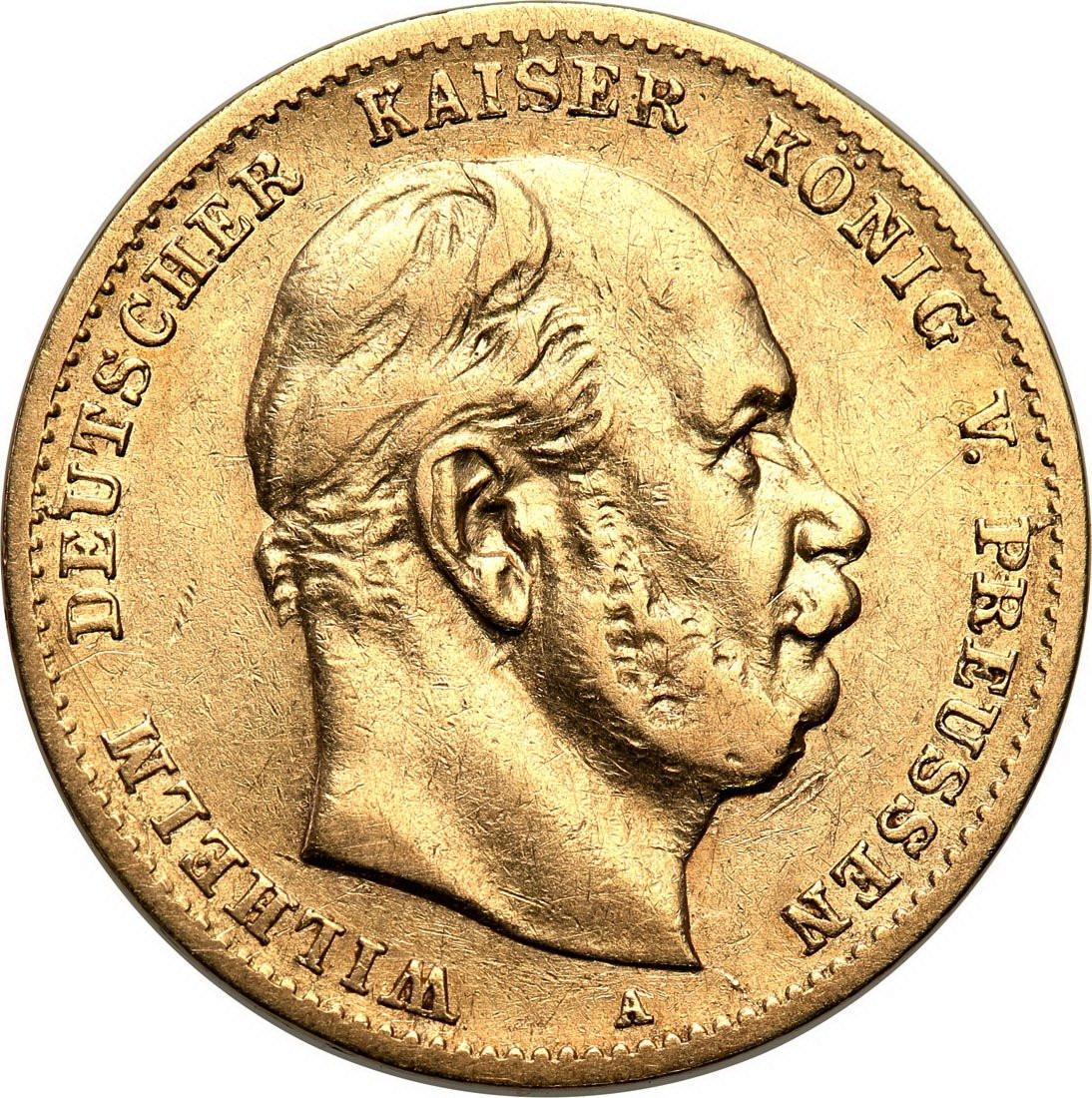 Niemcy Prusy 10 Marek 1873 A