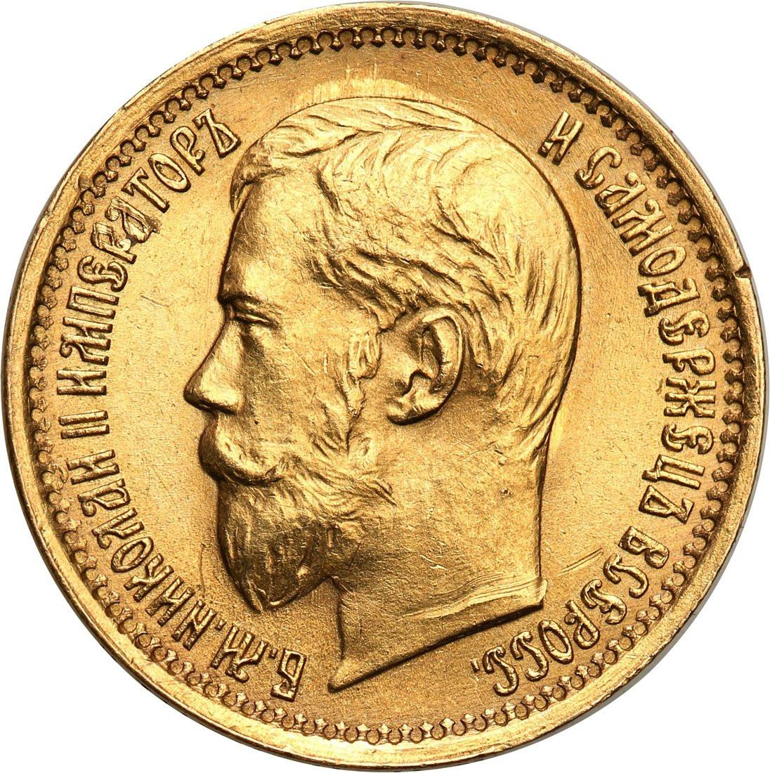 Rosja. Mikołaj II. 5 rubli 1898 (AP), Petersburg