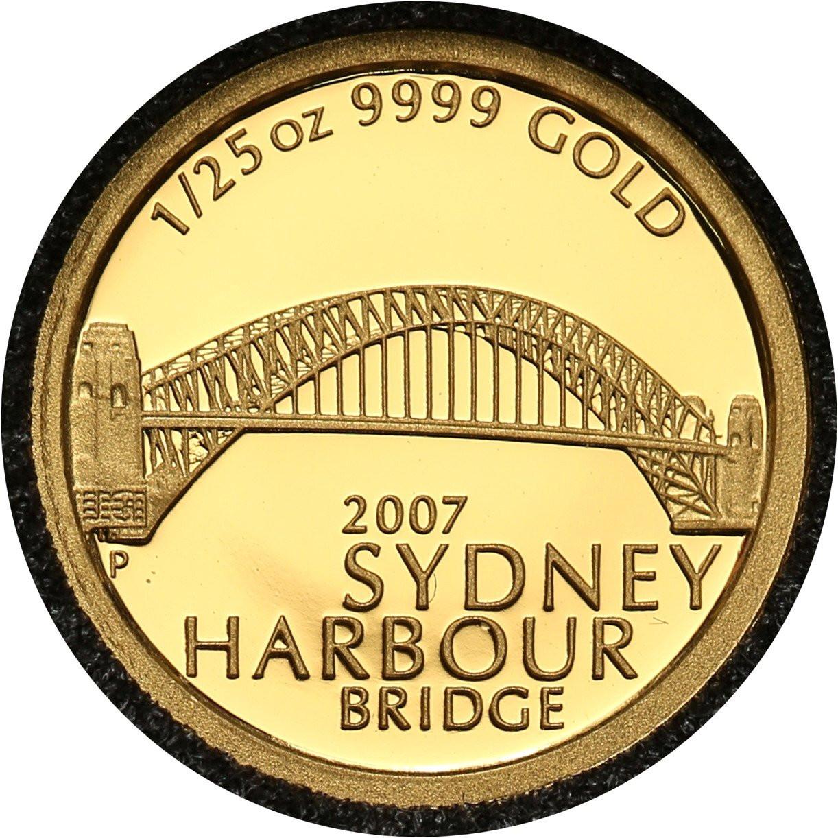 Australia 5 dolarów 2007 Most Portowy w Sydney
