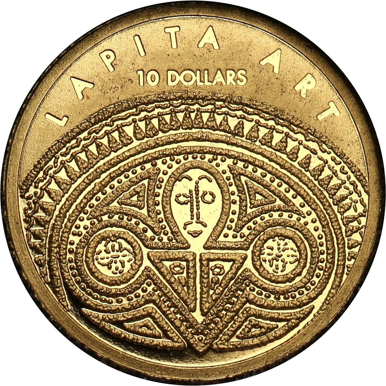 Fidżi 10 dolarów 2008 Kultura Lapita