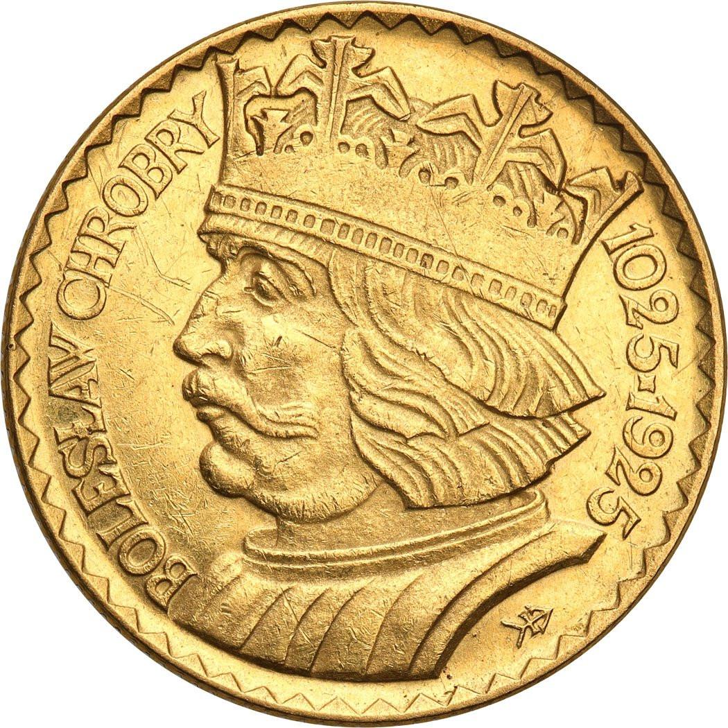 II RP. 20 złotych 1925 Chrobry
