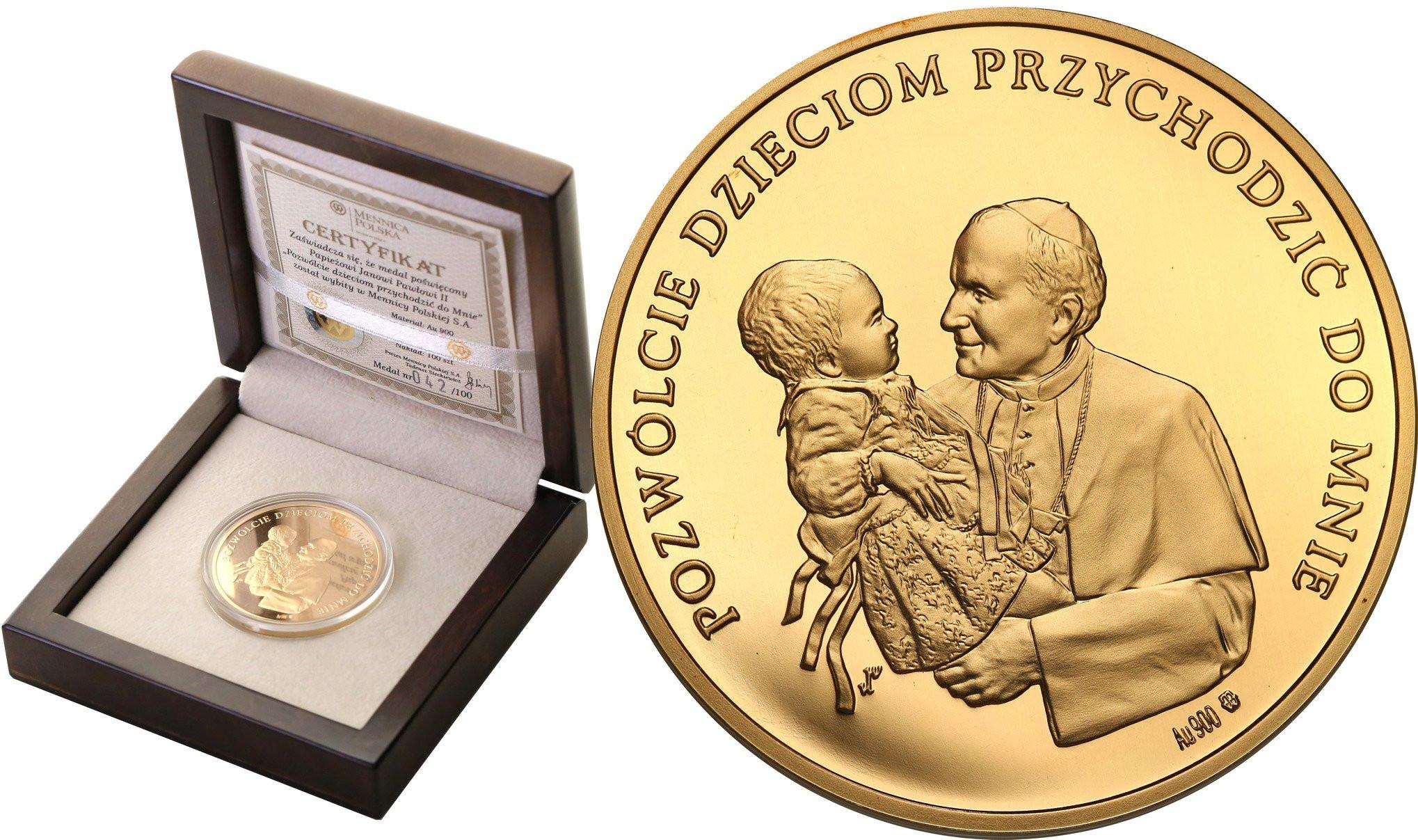 Medal 2005 Papież Jan Paweł II - Wielki Pontyfikat st.L
