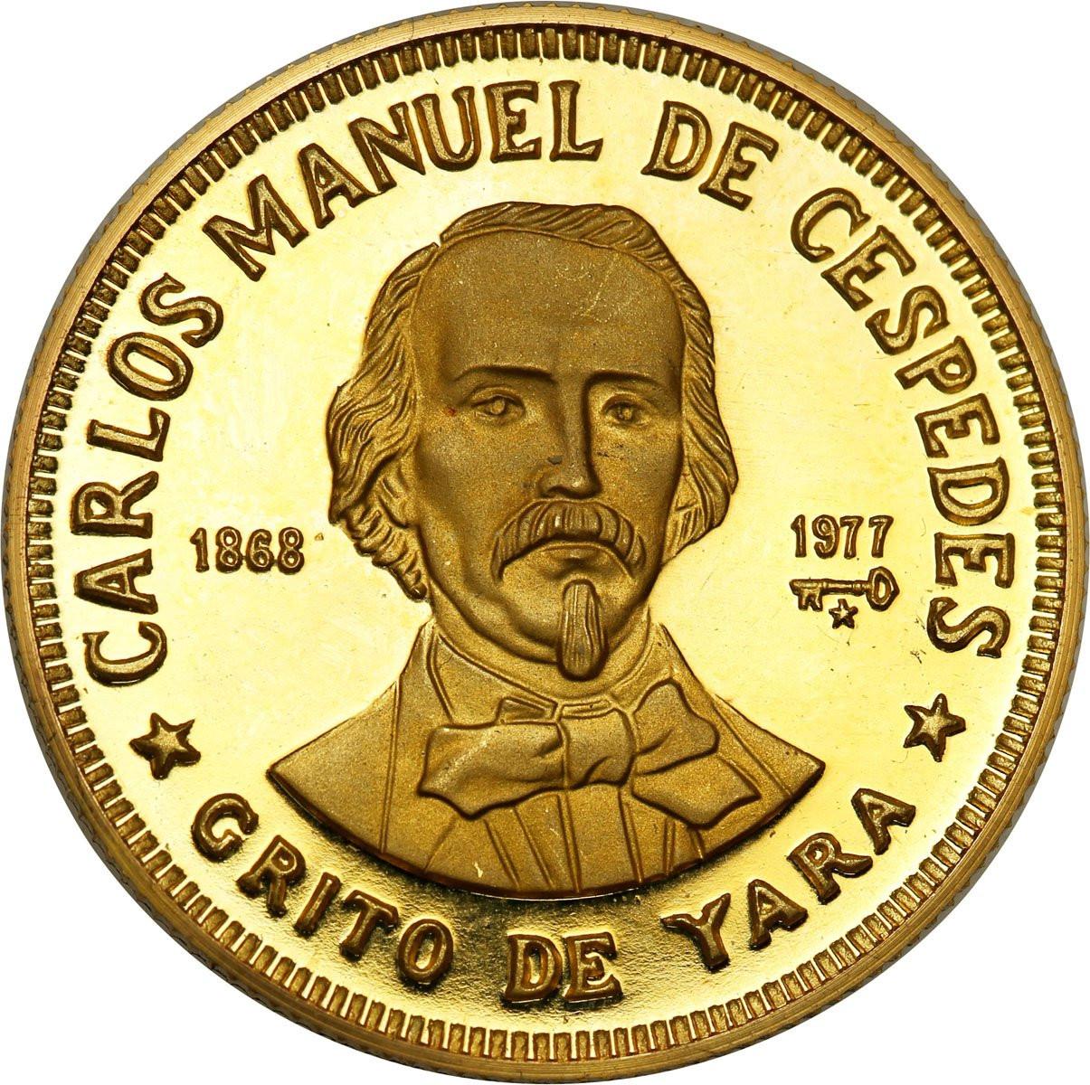 Kuba 100 Pesos 1977 lustrzanka st. 1