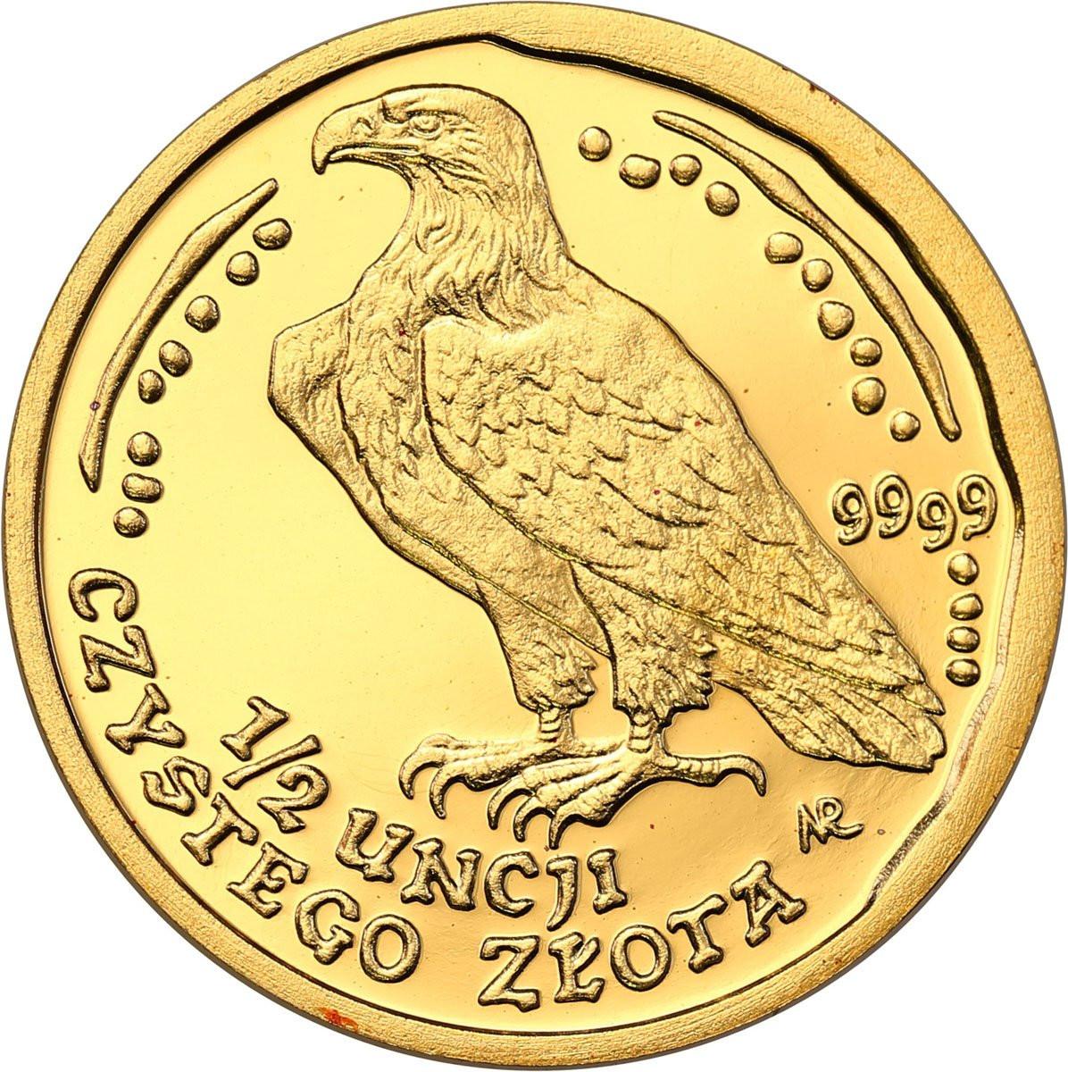 Polska. 200 złotych 2006 Orzeł Bielik – 1/2 UNCJI ZŁOTA