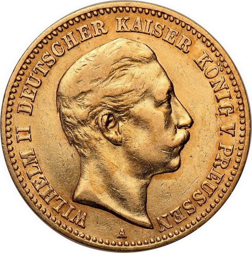 Niemcy Prusy 10 Marek 1896 A st.1-