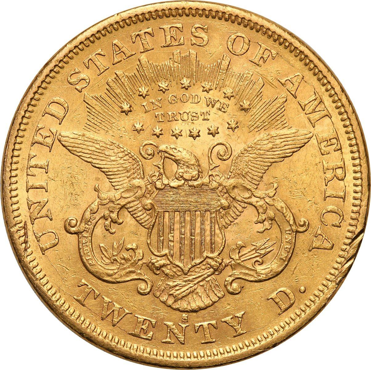 USA 20 $ dolarów 1875 S - San Francisco