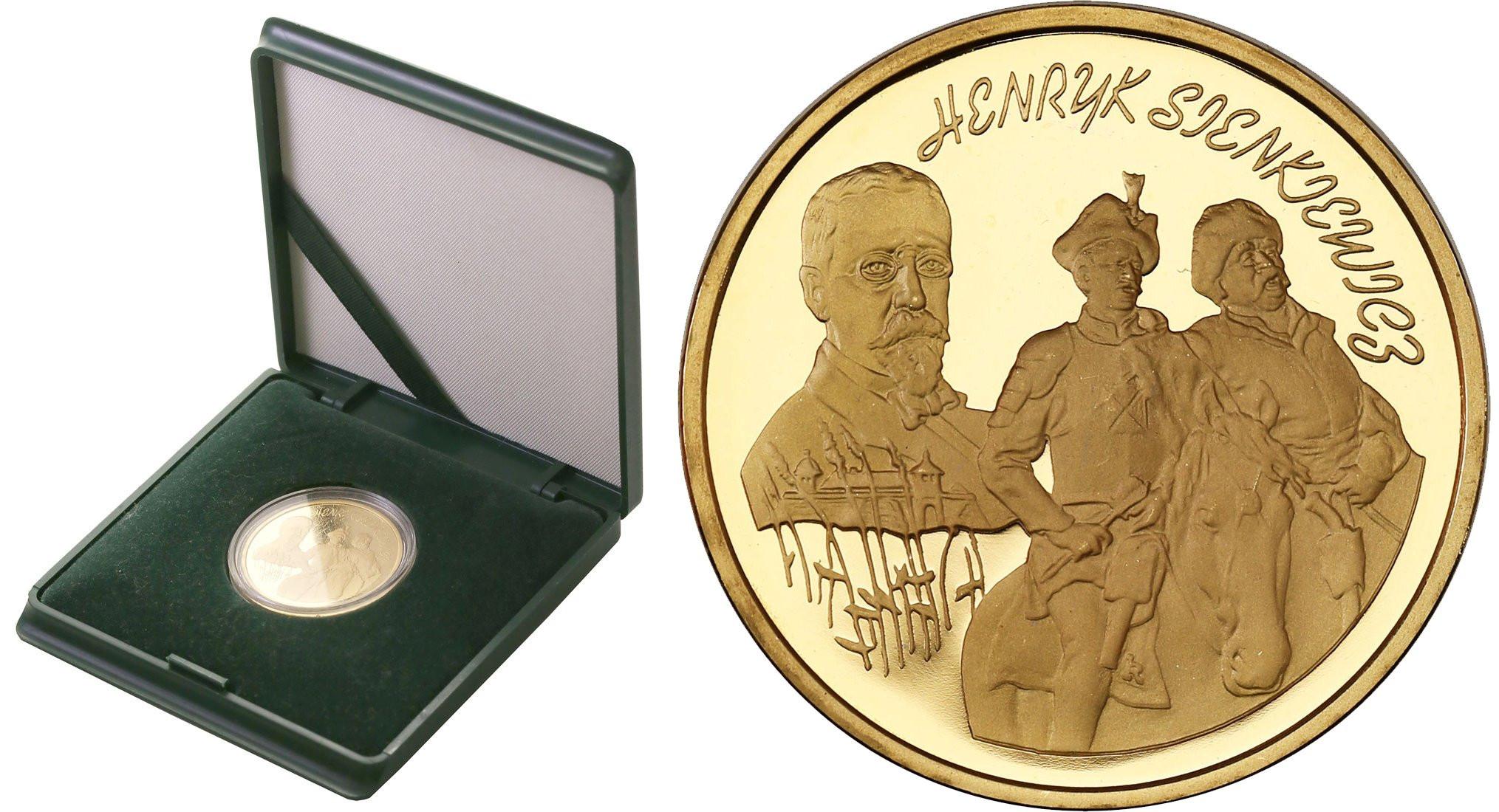 III RP. 200 złotych 1996 Henryk Sienkiewicz - RZADKOŚĆ