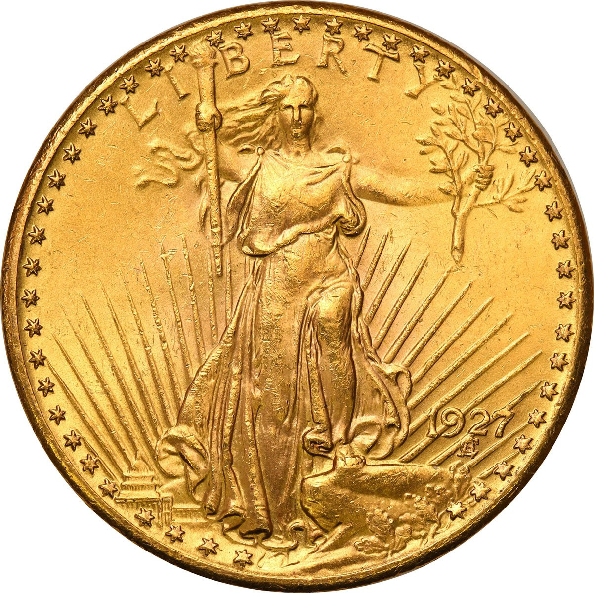 USA 20 $ dolarów 1927 Filadelfia – PIĘKNE