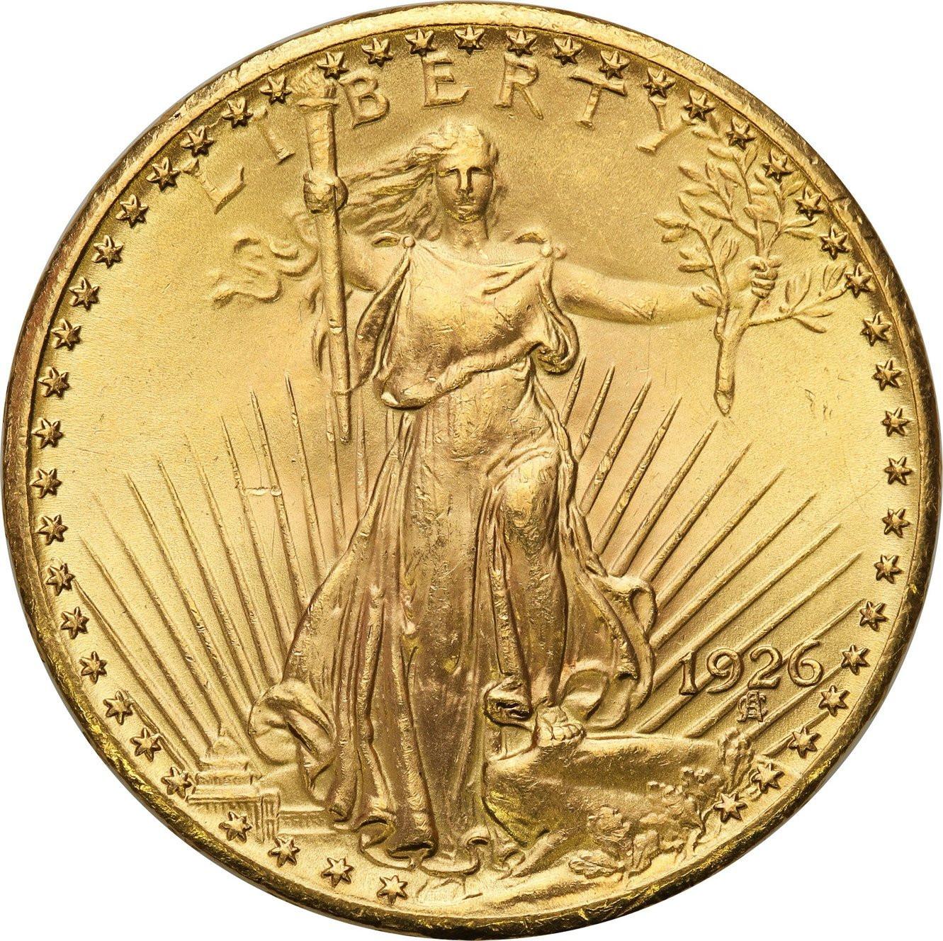 USA 20 dolarów 1926 Filadelfia