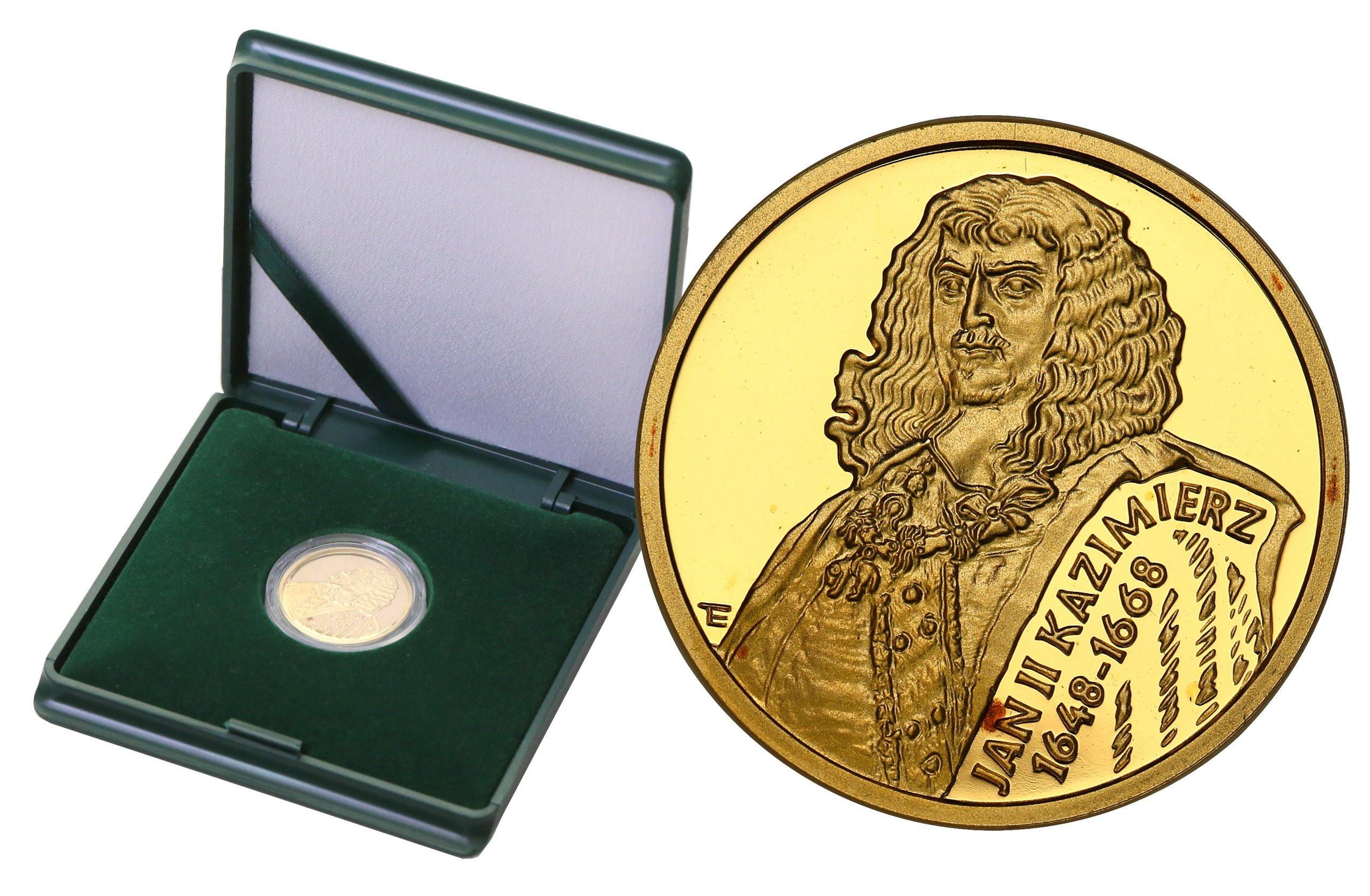 III RP 100 złotych 2000 Jan II Kazimierz