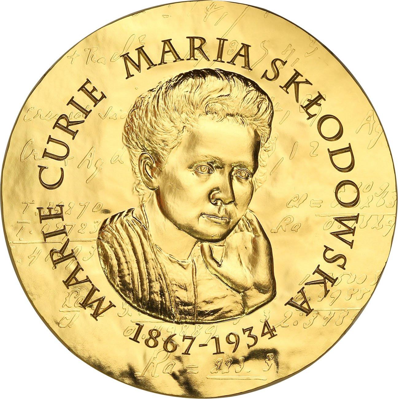Francja 200 euro 2019 Kobiety Francji Skłodowska TYLKO 250 szt - 1 Uncja złota