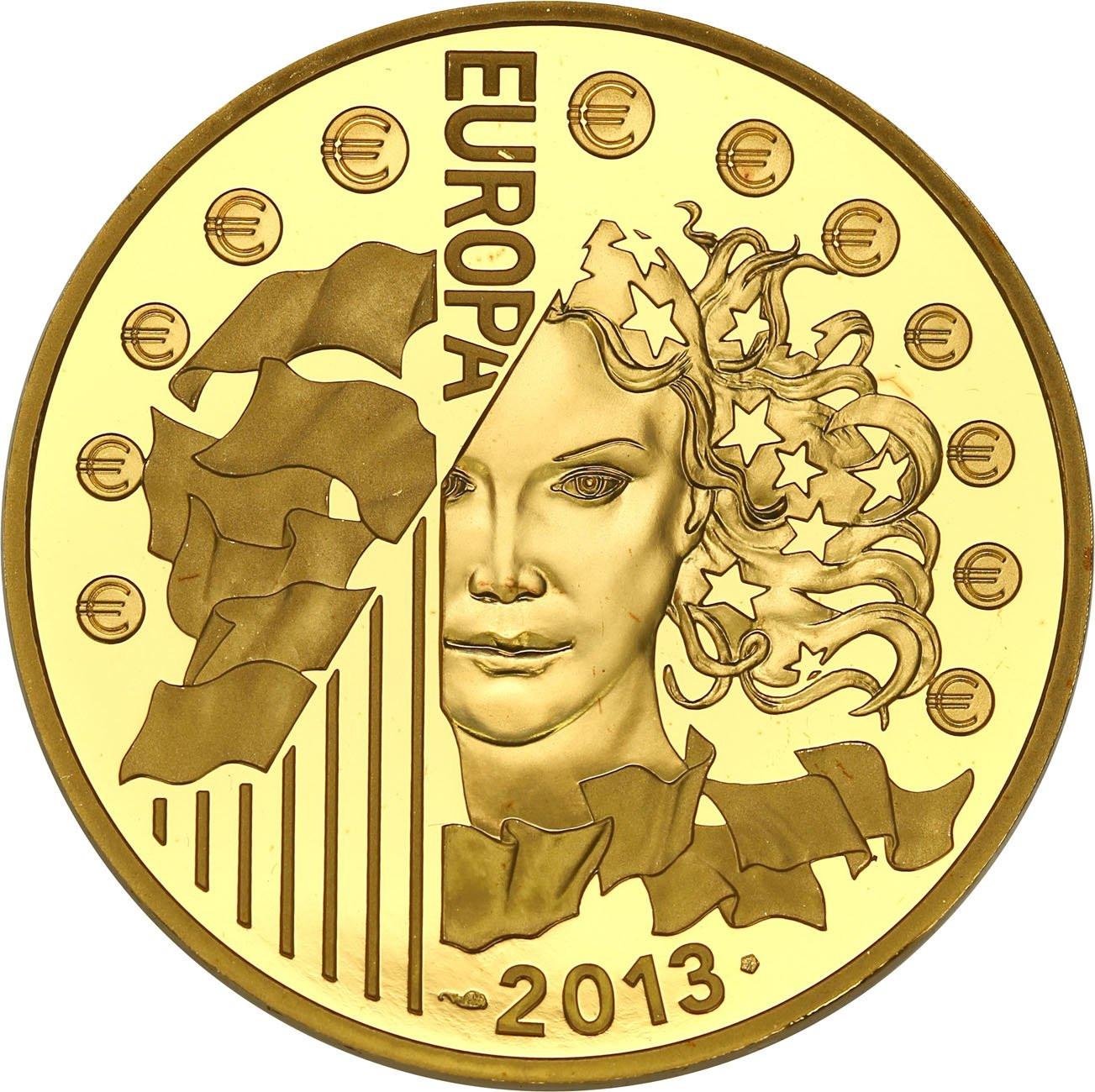 Francja 200 euro 2013 Europa TYLKO 500 szt - 1 Uncja złota