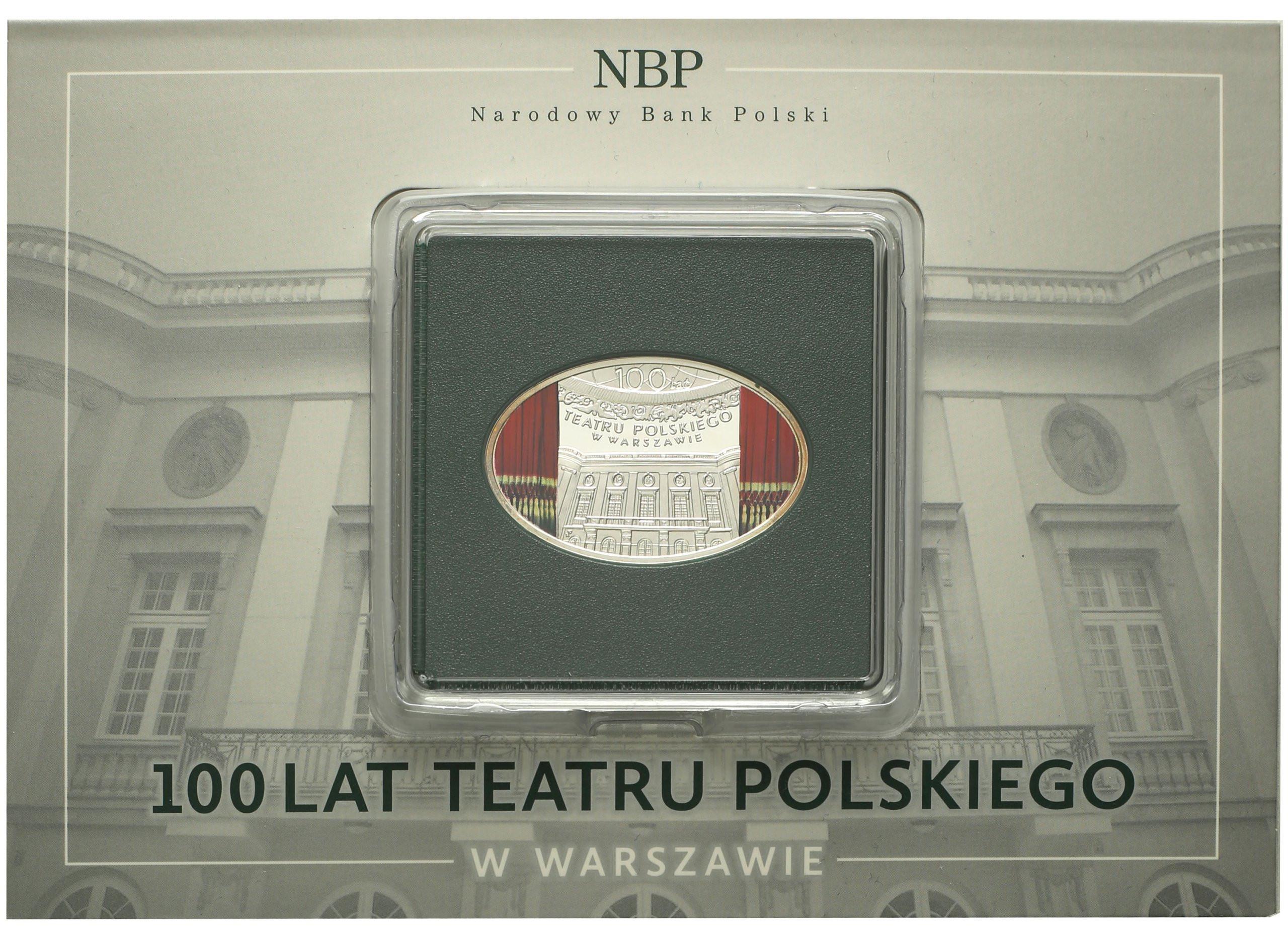 10 złotych 2013 Teatr Polski Warszawa st.L