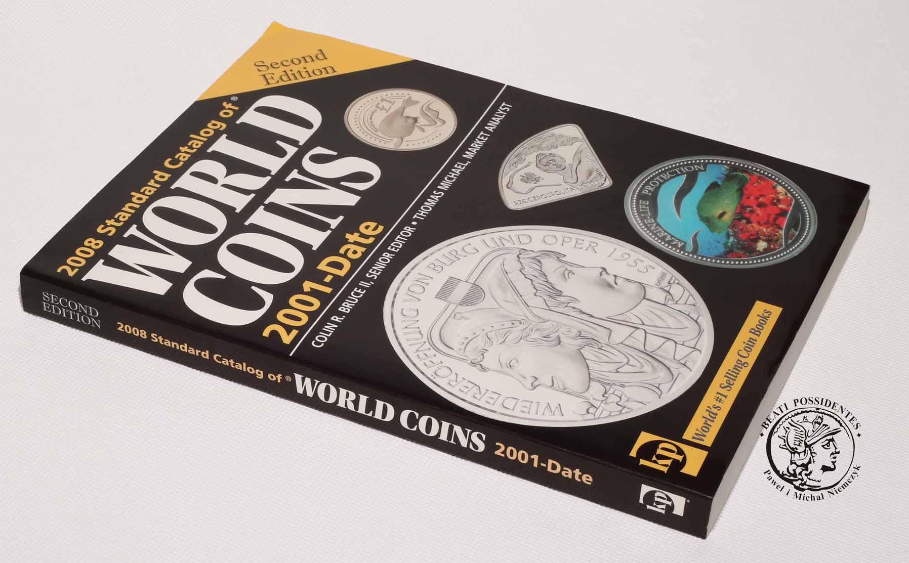 Katalog monet z całego świata - 384 strony! Catalog of World Coins 2001