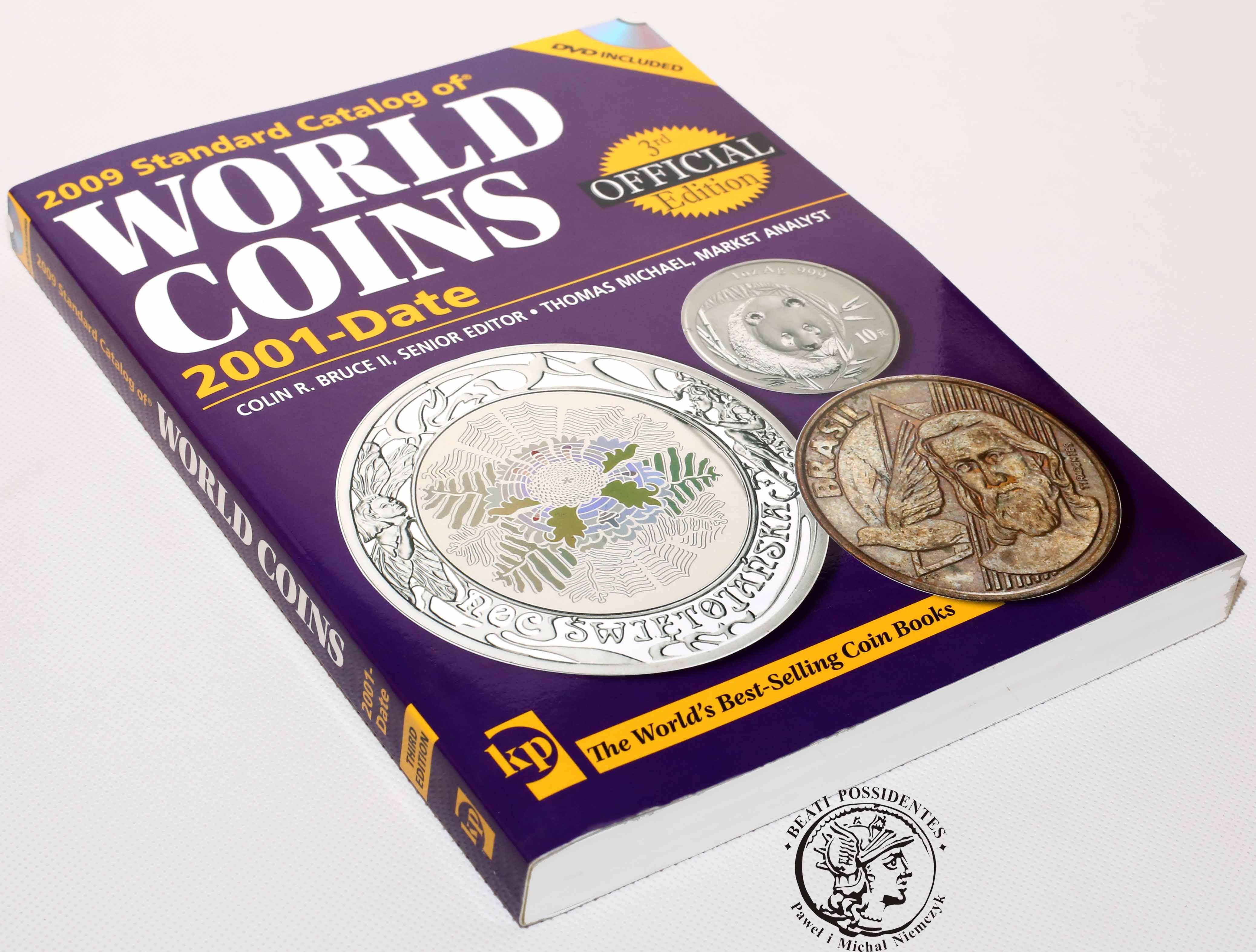 Katalog monet z całego świata - 432 strony! World Coins 2001- date KRAUSE