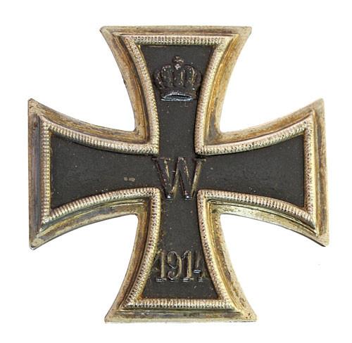 Krzyż Żelazny I klasy.