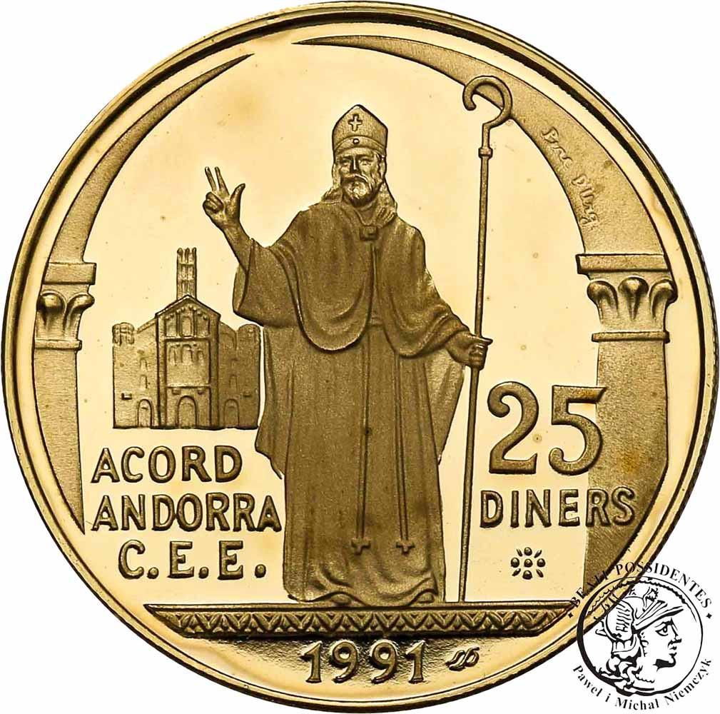 Andorra 10 Diners 1994 biskup st. L