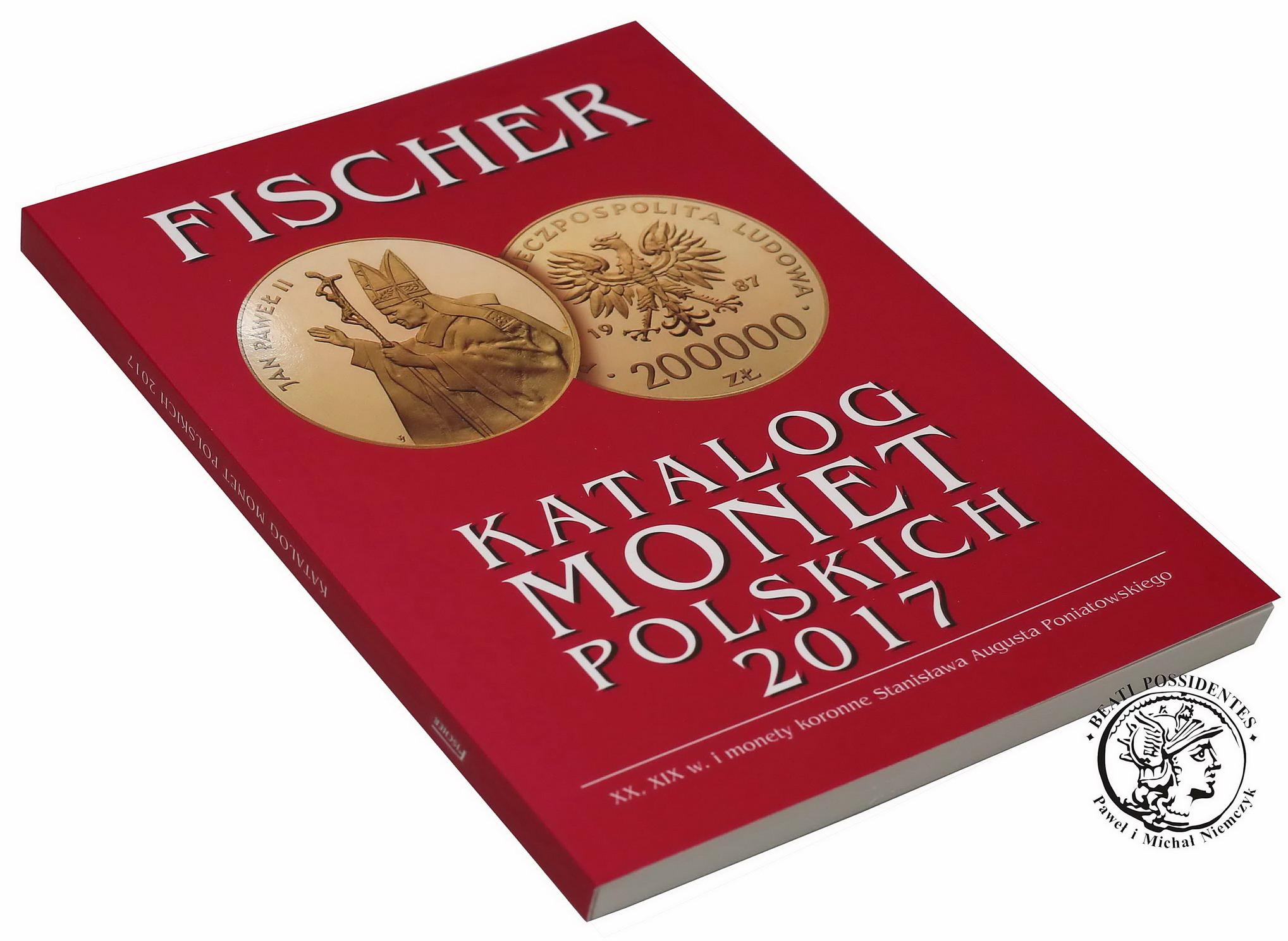 FISCHER 2017 - KATALOG MONET POLSKICH