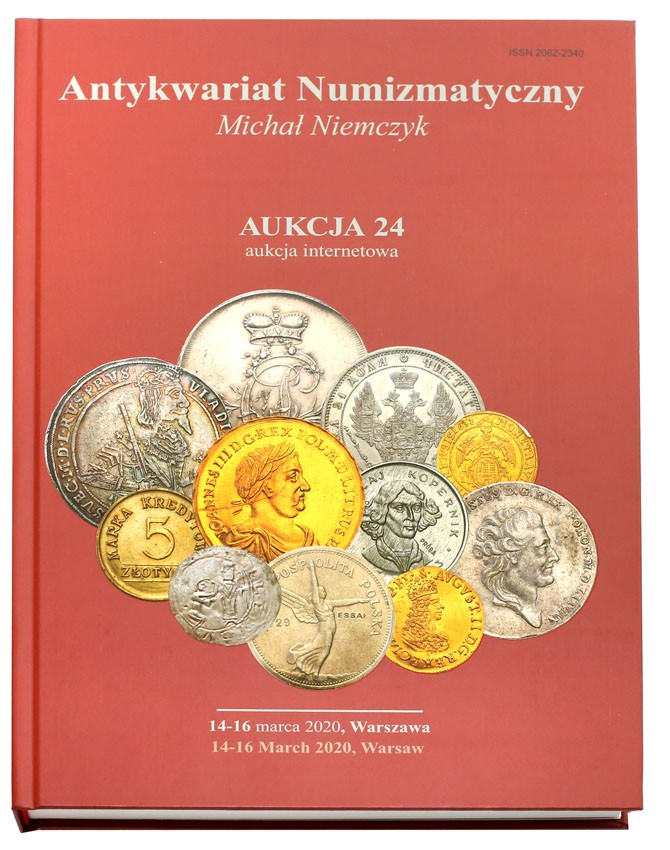 Katalog - Aukcja 24 Niemczyk już 14-15-16 marca 2020 - NOWOŚĆ