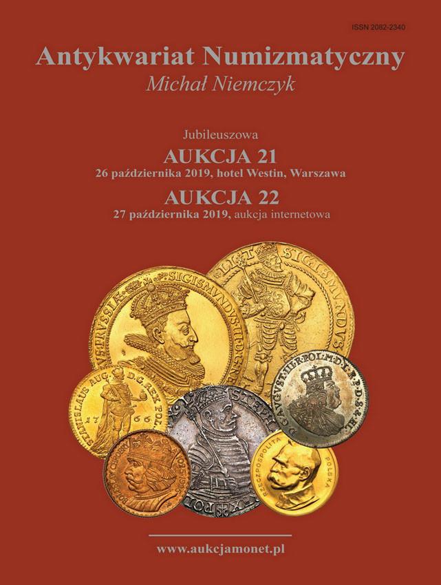 Jubileuszowa AUKCJA 21 i 22 katalog 26-27.10.2019 Niemczyk - NOWOŚĆ!
