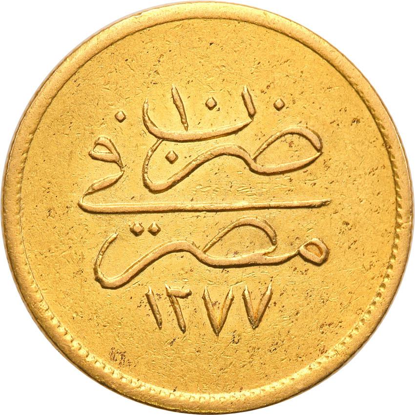 Egipt 10 piastres 1277 (10) 1871 AD st.2-