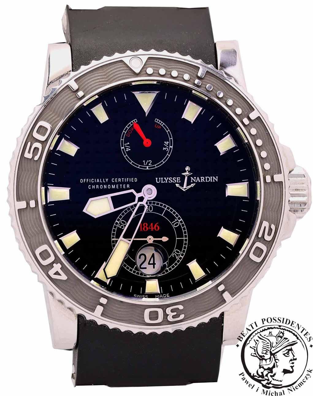 Zegarek ULYSSE NARDIN Maxi Marine Diver Ref.263-33