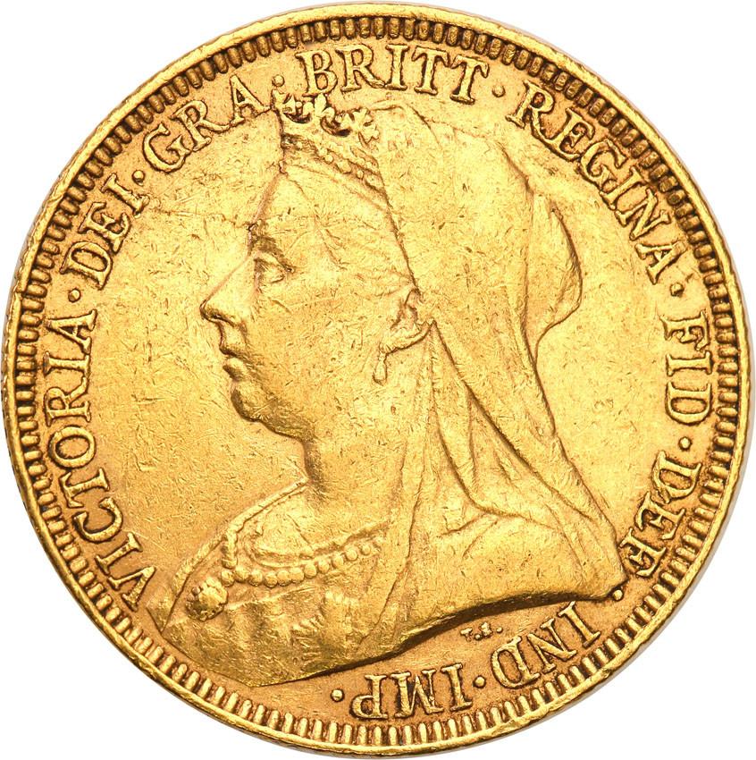 Wielka Brytania 1 suweren 1893 st.3+