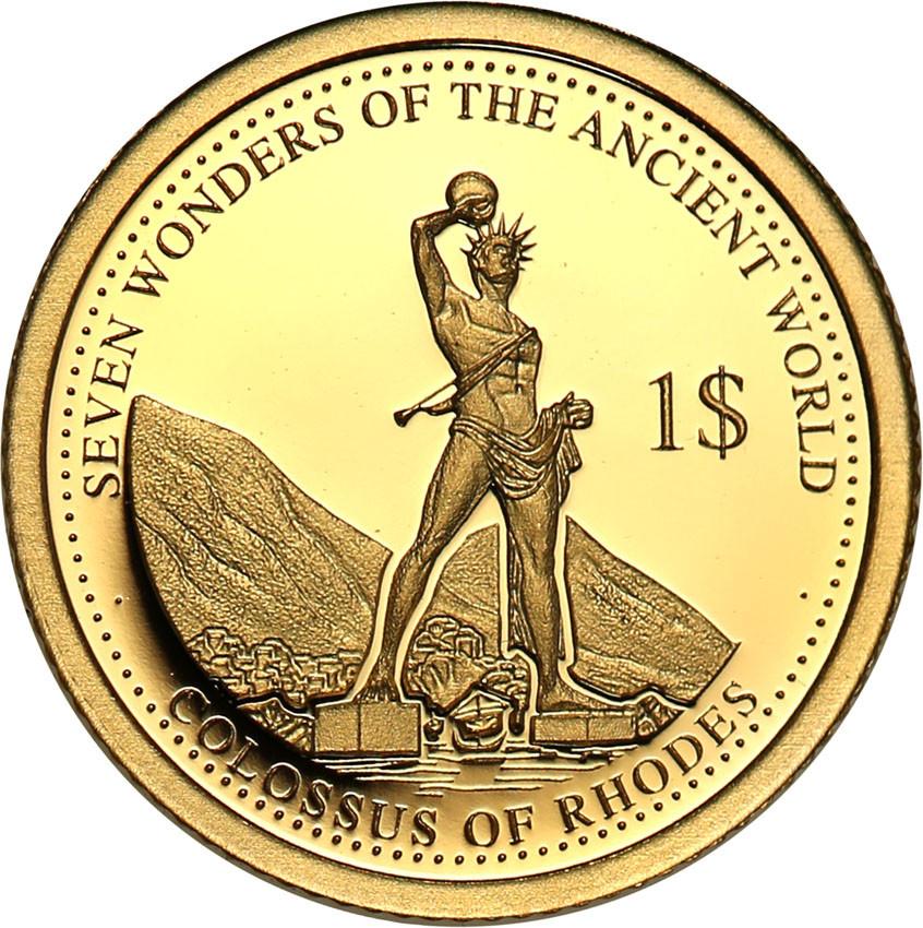 Wyspy Solomona 1 dolar 2016 Kolos Rodyjski st.L