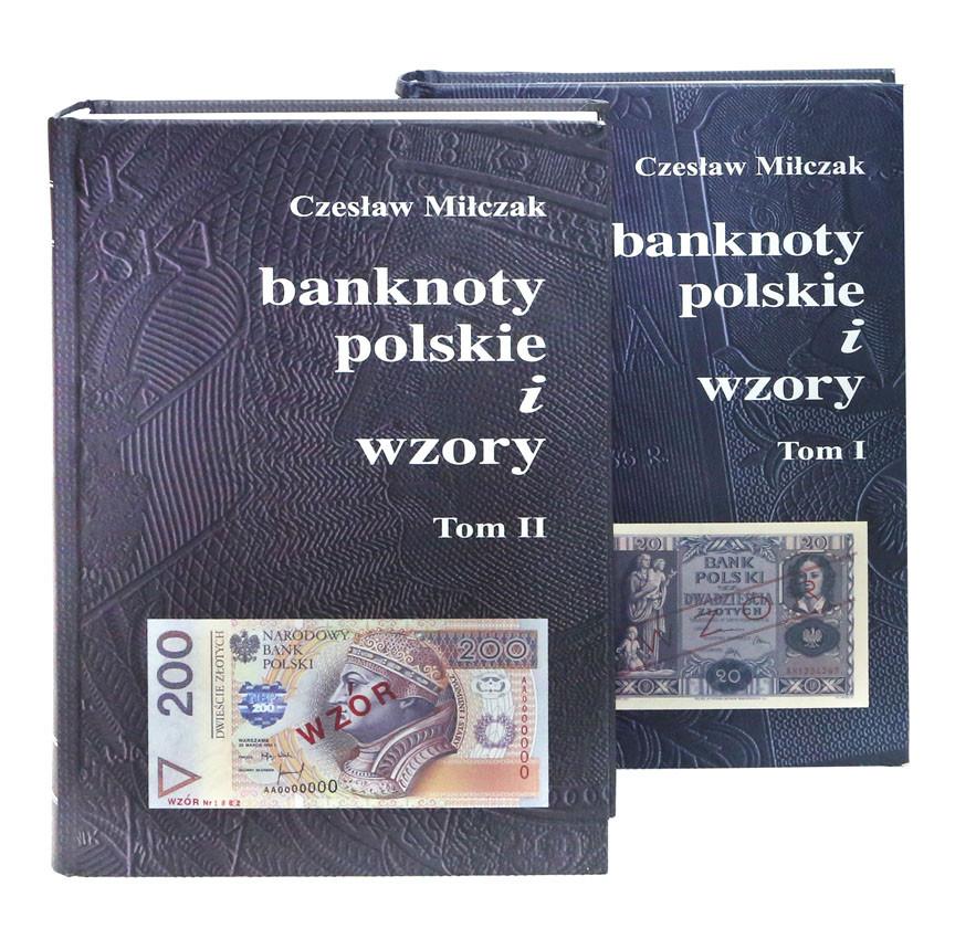 Banknoty polskie i wzory - Czesław Miłczak - OSTATNIE SZTUKI !
