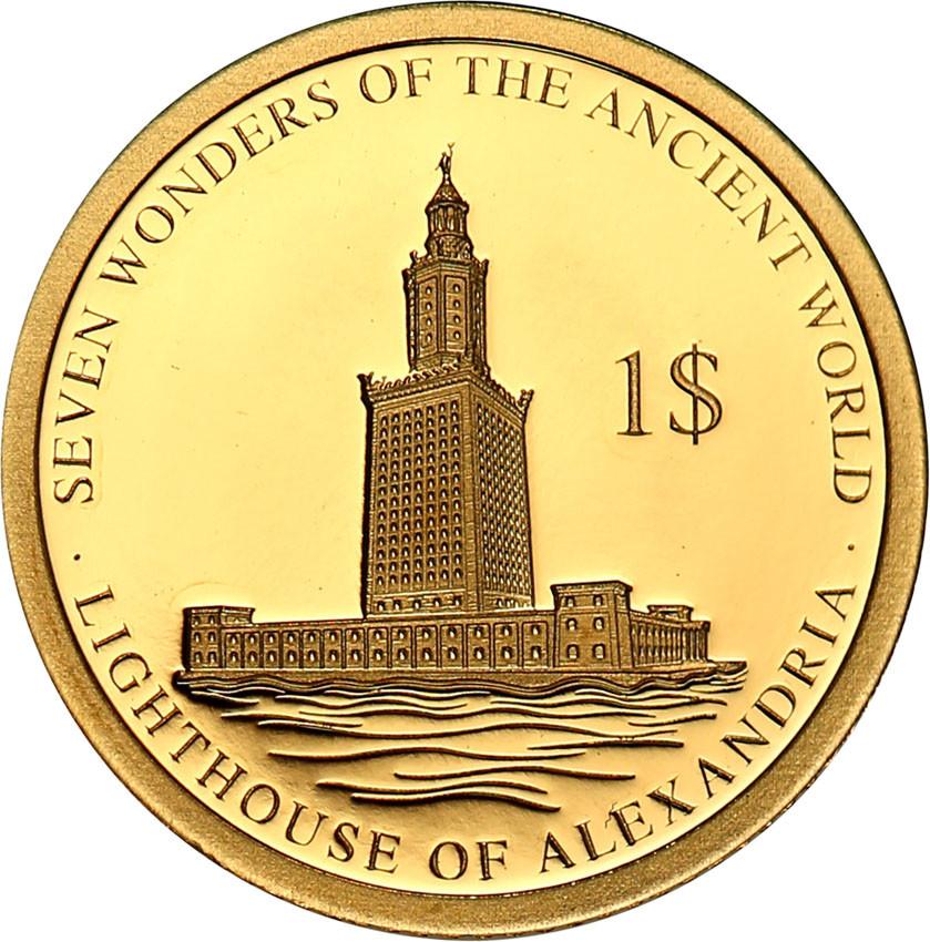 Wyspy Solomona 1 dolar 2016 Latarnia Morska w Aleksandrii st.L