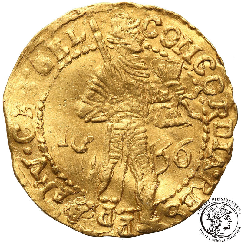 Niderlandy Geldern dukat 1656 st. 2