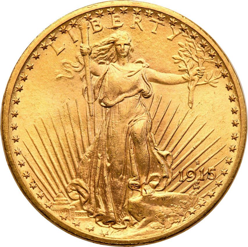 USA 20 dolarów różne roczniki bardzo ładne st. 1/1-