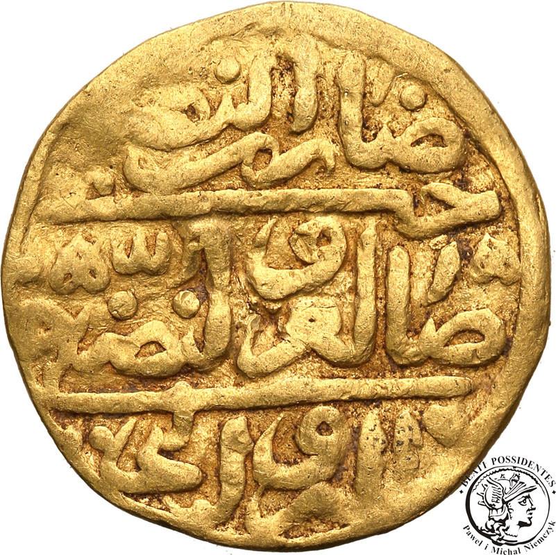 Turcja złoty ałłyn AH 924 (1513 AD) st.3