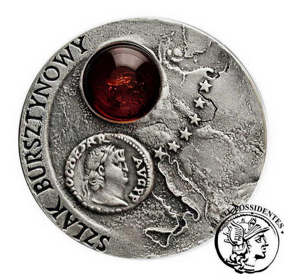 III RP 20 złotych 2001 Szlak Bursztynowy st. 1