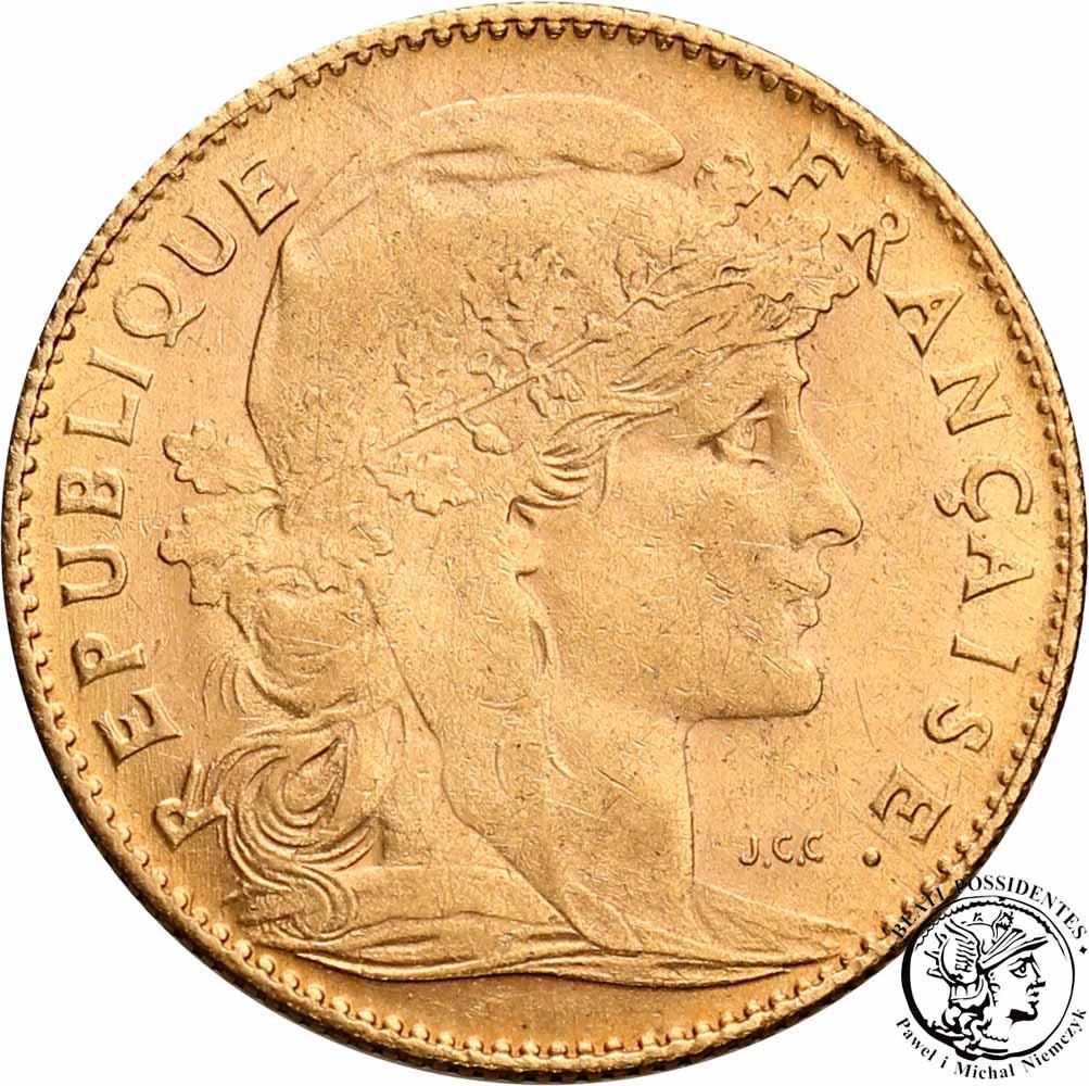 Francja 10 franków 1912 st. 1-