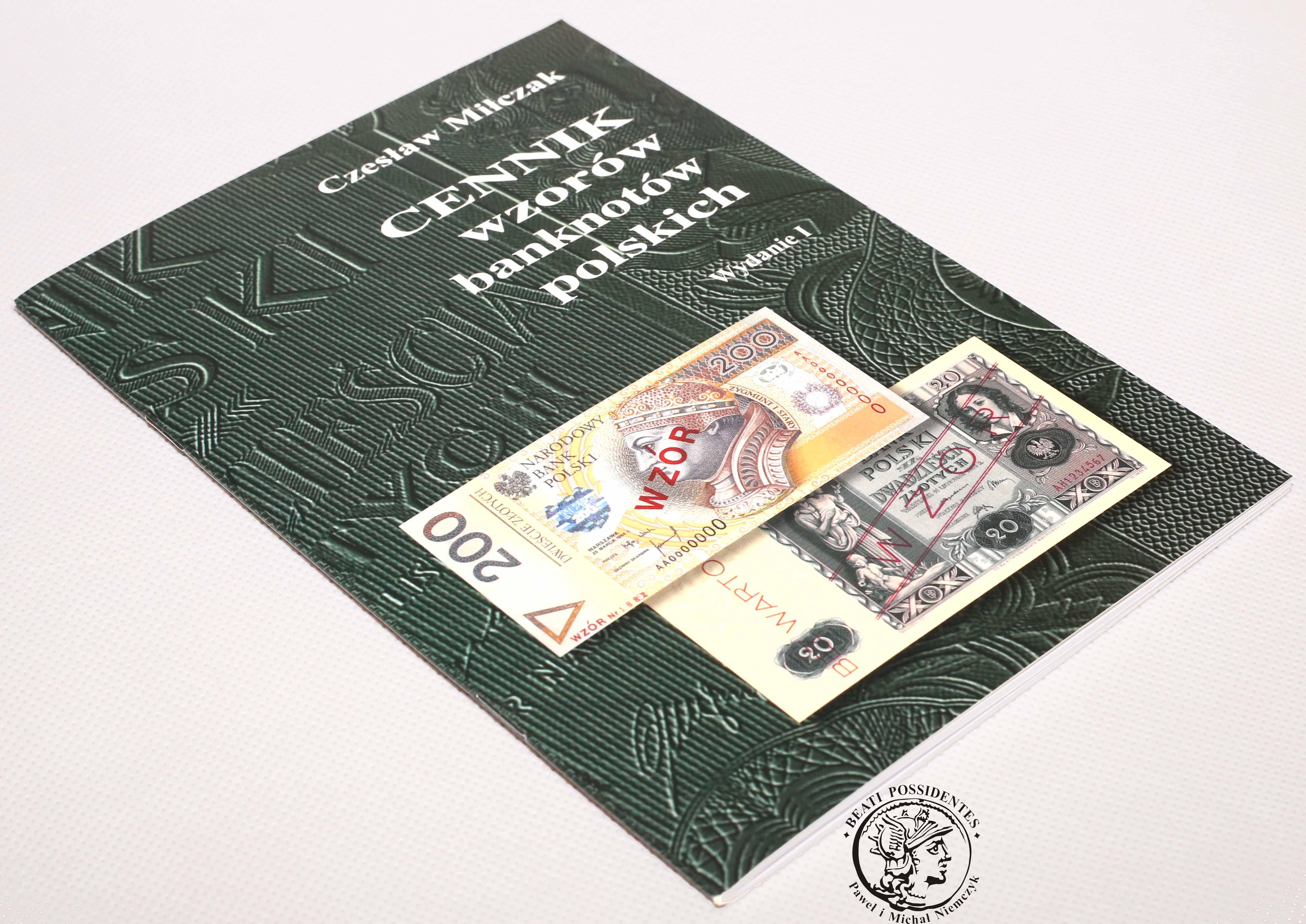 Czesław Miłczak - CENNIK banknotów polskich / wydanie XI